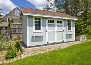 Gartenhäuser richtig dämmen - Praxistipps