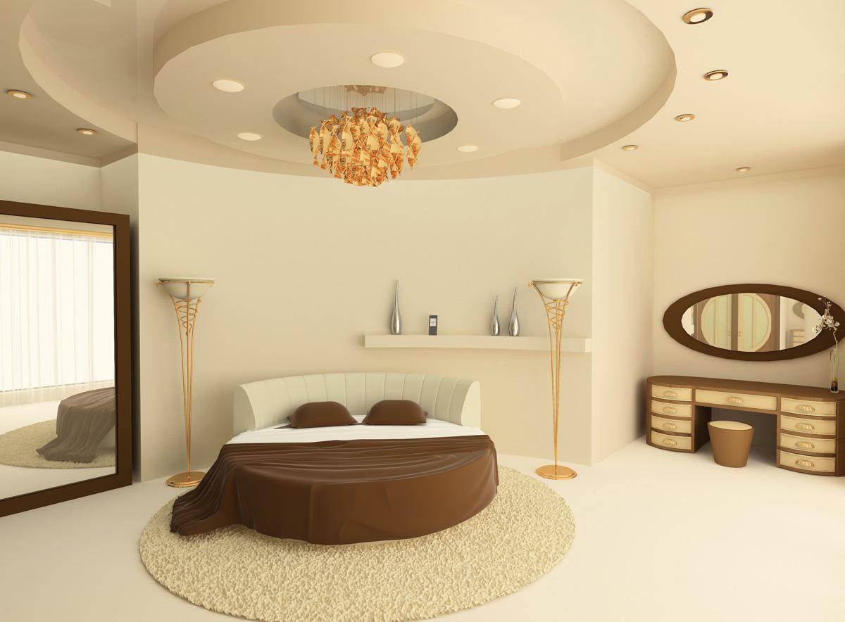Schlafzimmer Mit Rundbett Einrichten