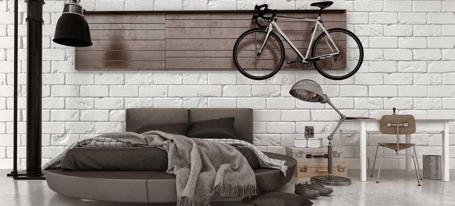 Rundbetten können mitten in großen Räumen positioniert werden und passen hervorragend zu einer extravaganten, modernen Einrichtung