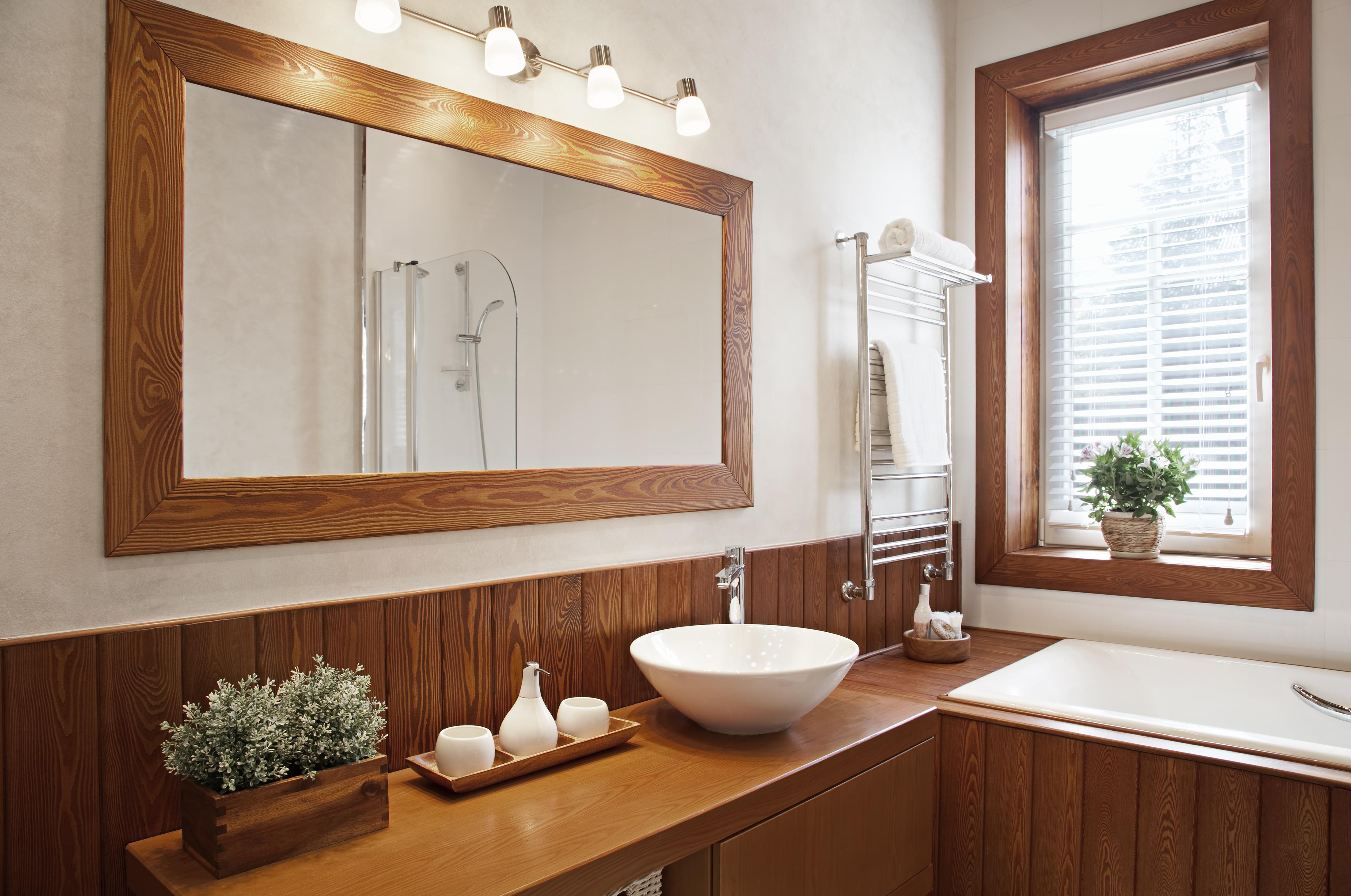 Die richtige Pflege für Holz Badezimmer   Zuhause bei SAM®
