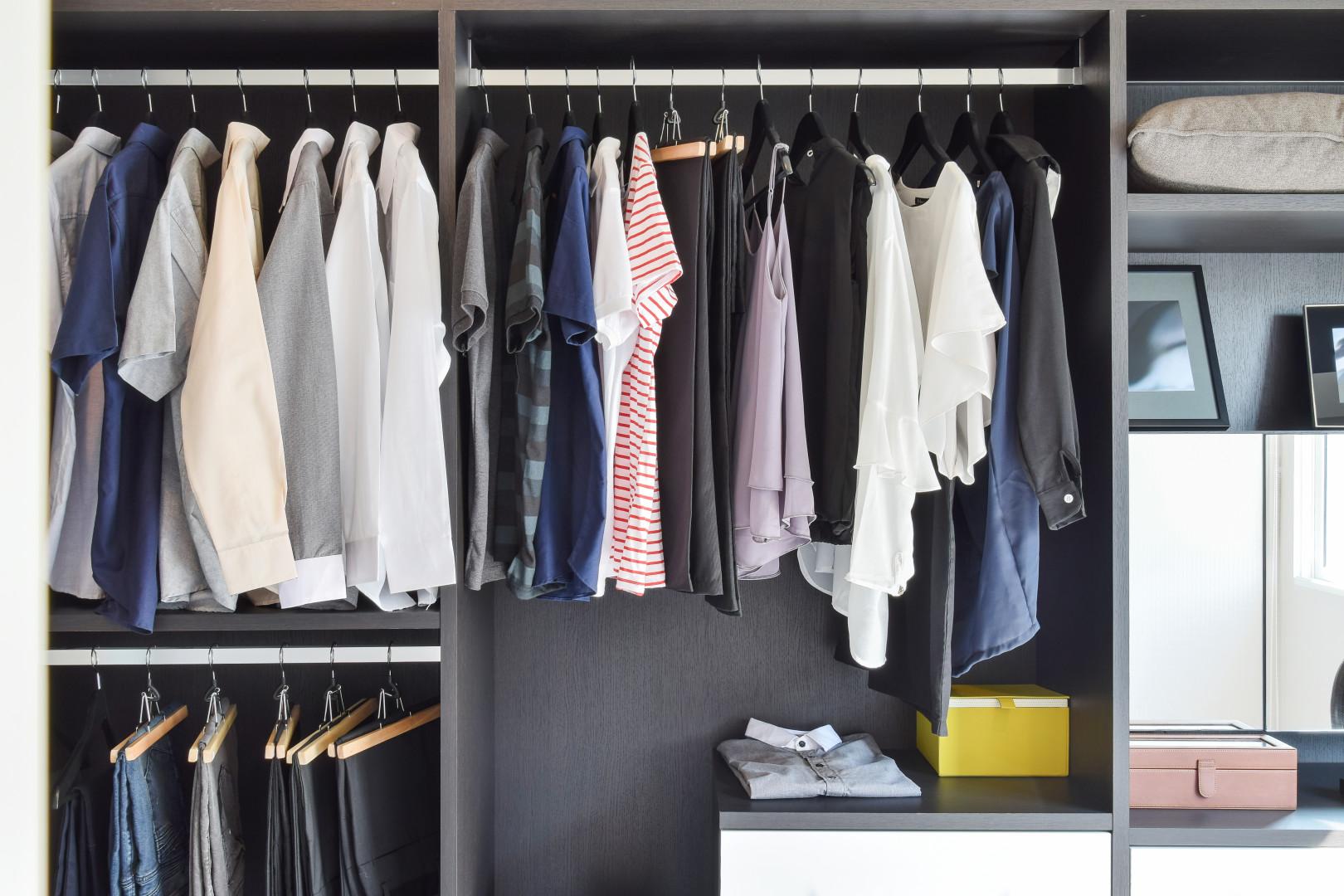 Mehr Ordnung im Kleiderschrank - Zuhause bei SAM®