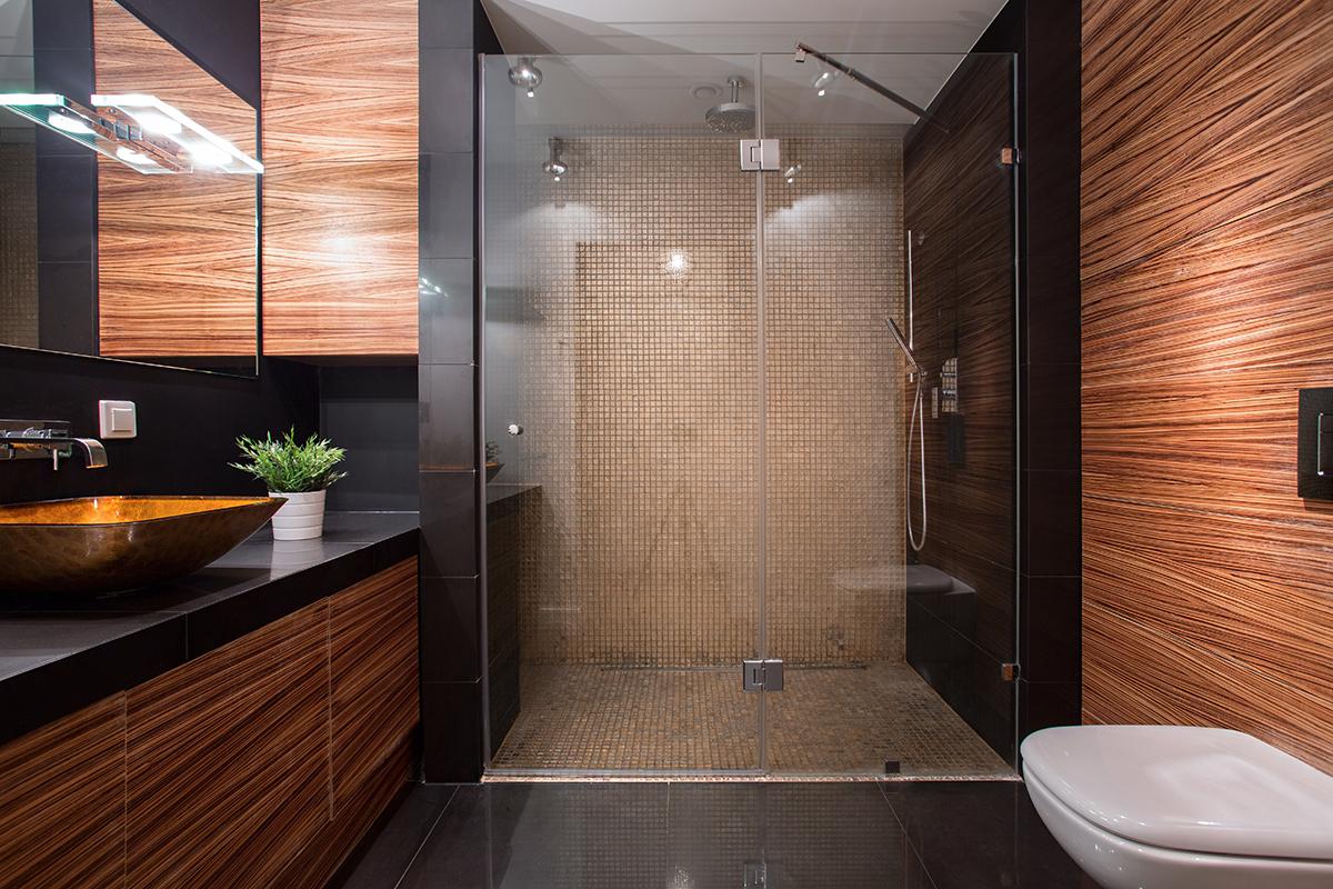 Badezimmer design holz  Holz im Bad – geht das gut? - Zuhause bei SAM®