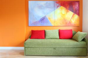 Leuchtende Farben gekonnt großflächig einsetzen