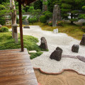 Wie richtet man einen Zen Garten her