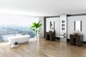 Pflanzen im Badezimmer - geht das gut