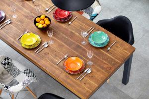 Essen mit der Familie: Ausziehtisch und andere praktische Dinge