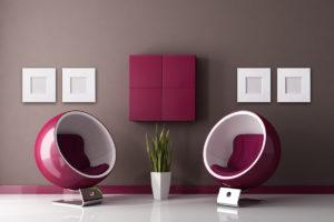 Möbel mit Lounge-Charakter