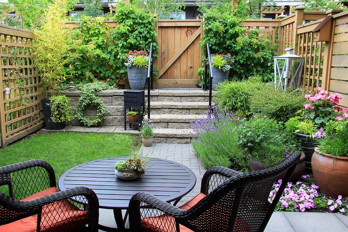 einen terrassengarten gestalten - zuhause bei sam®