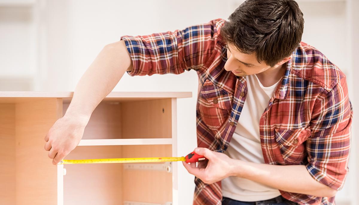 Gekaufte Möbel können ganz einfach neu gestyled werden.