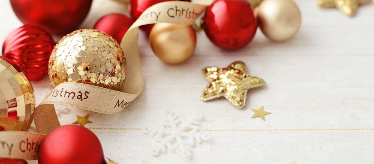 Rot Und Gold Gerade In Der Weihnachtszeit Eine Schöne Kombination