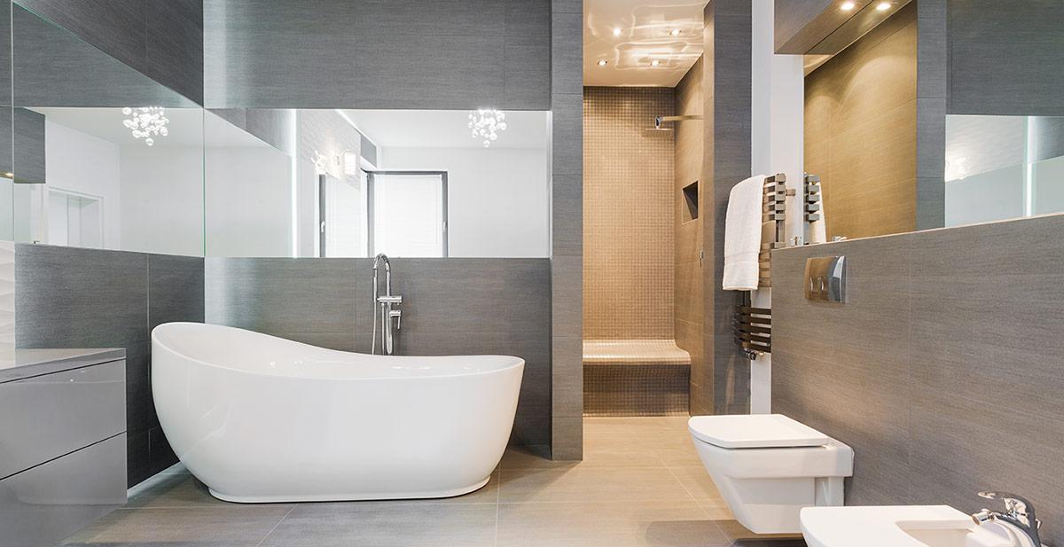 Moderne Badezimmer Zuhause Bei Sam