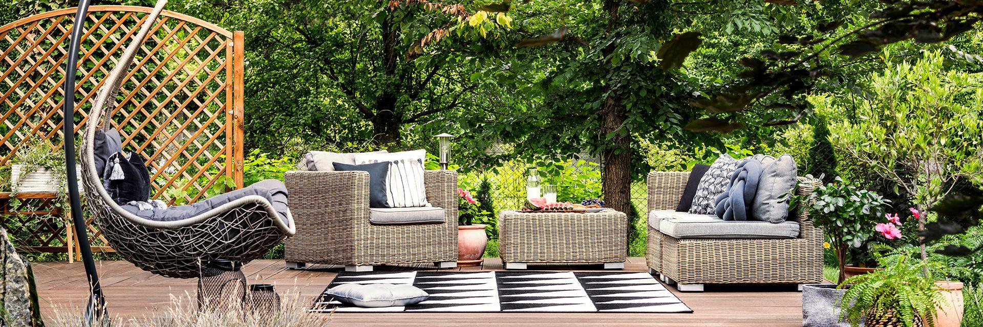 Hängematte, Lounge Sitzgruppe Oder Gartenstuhl?