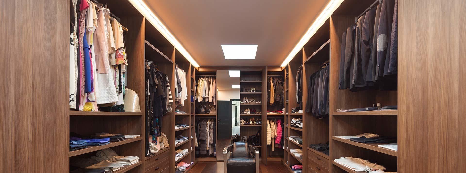 Begehbarer Kleiderschrank - Zuhause bei SAM®